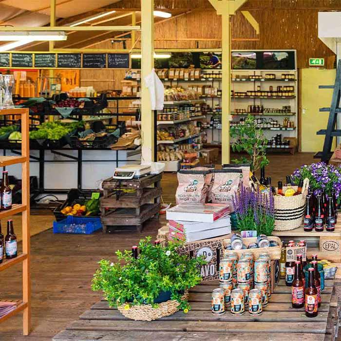 Lokale leveranciers en telers - Streekwinkel - Buitenpost